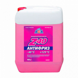 AGA003Z Антифриз, готовый к прим.красный -40 10кг./1шт.