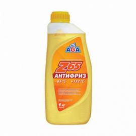 AGA042Z Антифриз,готовый к прим.желтый, -65С 1кг. 1шт./10шт.