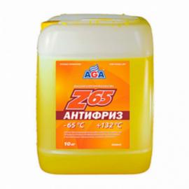 AGA044Z Антифриз,готовый к прим.желтый, -65С 10кг./1шт.