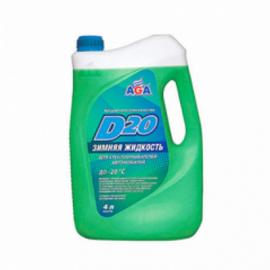 AGA079D Жидкость для омыв. стекла 4кг -20С 1шт./3шт.