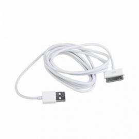 АЗУ USB провод белый iPhone 4
