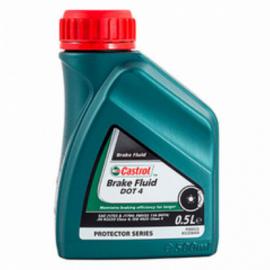 Castrol Brake Fluid DOT4 Тормозная жидкость 0,5л (4666300062) 0,5Lх12шт