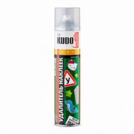 KUDO KU-H401 Удалитель наклеек и следов клея(аэрозоль)400 мл12шт