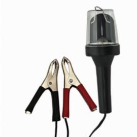 Лампа переносная IL-313A 8W с зажимами для АКБ 12V MEGA/1/50